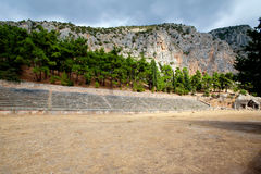 Delphi, Greece Royalty Free Stock Photos