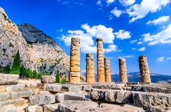 delphi greece royaltyfri bild
