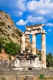 delphi greece arkivbild