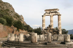 delphi greece Arkivbild