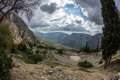 delphi greece Fotografering för Bildbyråer