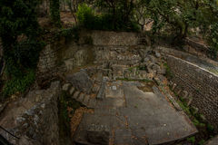 delphi greece Arkivfoton