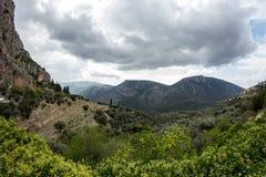 Delphi Greece Royalty Free Stock Photo