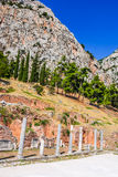 Delphi, Greece stock photo