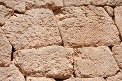 delphi greece gammal vägg Royaltyfri Fotografi