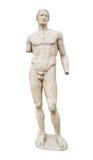 delphi greece museumstaty Arkivbilder