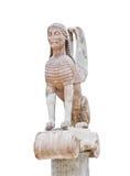 delphi Greece muzeum statua Obrazy Stock