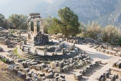 delphi greece orakel Royaltyfri Bild