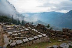 Delphi, Greece Royalty Free Stock Photos
