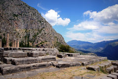 Delphi in Greece Royalty Free Stock Image