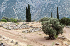 Delphi Greece Royalty Free Stock Photography
