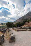 Delphi Greece Stock Photo