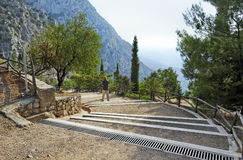 Delphi in Greece. Royalty Free Stock Photo