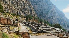 Delphi, Greece. Royalty Free Stock Photos