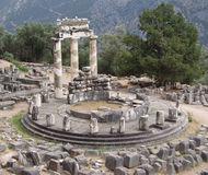 Delphi - Greek Ruins Royalty Free Stock Image