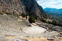 Delphi Grekland Royaltyfri Bild