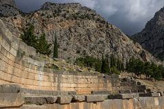 Delphi Griechenland Stockfotos