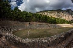 Delphi Griechenland Lizenzfreie Stockfotografie