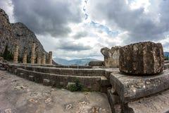 Delphi Griechenland Stockbilder