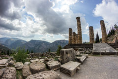 Delphi Griechenland Lizenzfreie Stockfotos