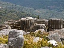 Delphi Griekenland Stock Foto's
