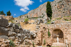 Delphi museum. Greece Royalty Free Stock Photos