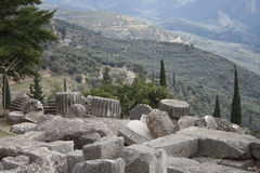 Delphi museum. Greece Royalty Free Stock Images