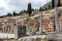 Delphi Ruins Greece Royalty Free Stock Image