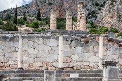 Delphi Ruins Greece Stock Images