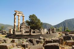 Delphi ruins Royalty Free Stock Photography