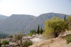 Delphi. Teatro Imágenes de archivo libres de regalías