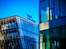 Delphi Technologies-Bürogebäude stockfotografie