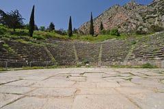 Delphi Theater royaltyfri bild
