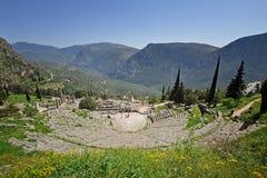 Delphi Theater Stock Photo