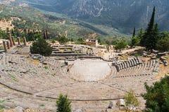 Delphi Theatre Royaltyfri Bild