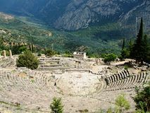 Delphi Theatre Stock Photography