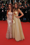 Delphine Wespiser & Laury Thilleman Stock Images