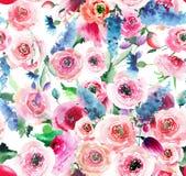 Delphinium coloré de mauve rose de wildflowers de beau beau ressort lumineux magnifique de fines herbes floral élégant doux tendr Image libre de droits
