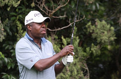 Delroy Cambridge at Cannes-Mougins Seniors Masters Stock Image