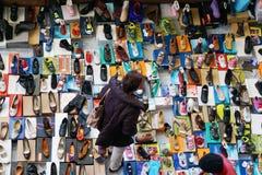 Dels Encants di Mercat a Barcellona Fotografia Stock Libera da Diritti
