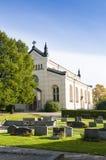 Delsbo教会瑞典 免版税库存图片