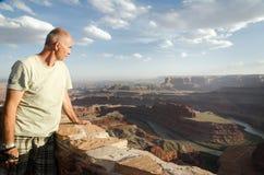 Delstatspark för dödhästpunkt - USA, Utah Royaltyfria Bilder