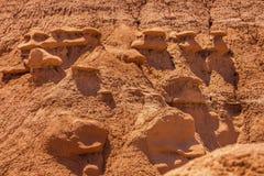 Delstatspark Utah för dal för elakt troll för elakt trollbyolycksbringare Royaltyfri Fotografi