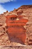 Delstatspark Utah för dal för elakt troll för olycksbringare för elakt trolllägenhethus Royaltyfri Fotografi