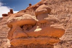Delstatspark Utah för dal för elakt troll för olycksbringare för elakt trolllägenhethus Royaltyfri Bild
