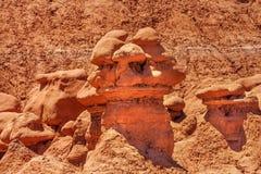 Delstatspark Utah för dal för elakt troll för olycksbringare för elakt trolllägenhethus Arkivfoto