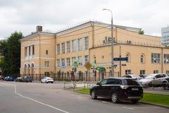 Delstatsuniversitet av järnväg iscensätta MIIT i Moskva 17 07 2 Royaltyfri Bild