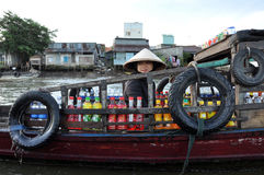 Delta湄公河越南 免版税库存图片