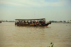 Delta湄公河 免版税库存照片