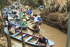 Delta湄公河 库存图片